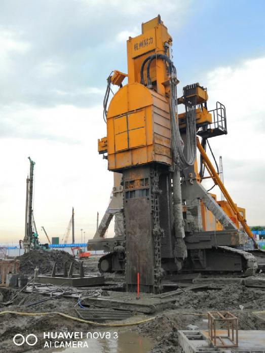 杭州蕭山國際機場三期航站樓A1去樁基工程