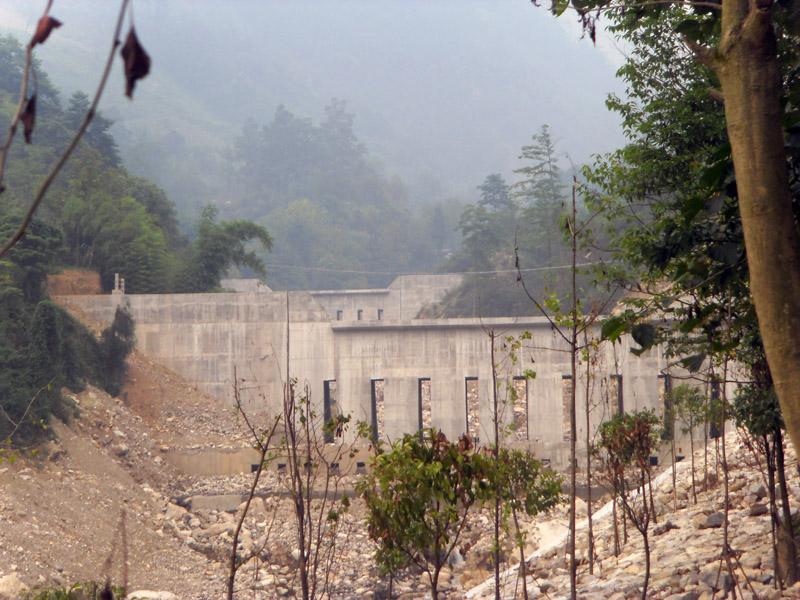 清平走馬嶺治理工程6#、7#攔砂壩