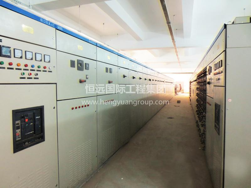 蒙古Tsagaan Suvarga 銅鉬礦項目 低壓抽出式開關柜