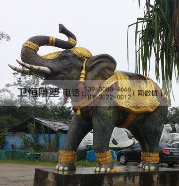 镇宅铜大象
