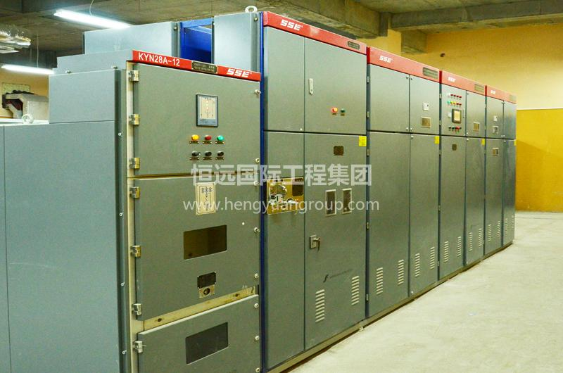 俄羅斯CCK熱鍍鋅廠 KYN28-12交流金屬鎧裝移開式開關柜