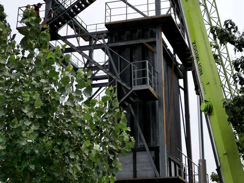 安裝脫硫塔應注意的幾個方面