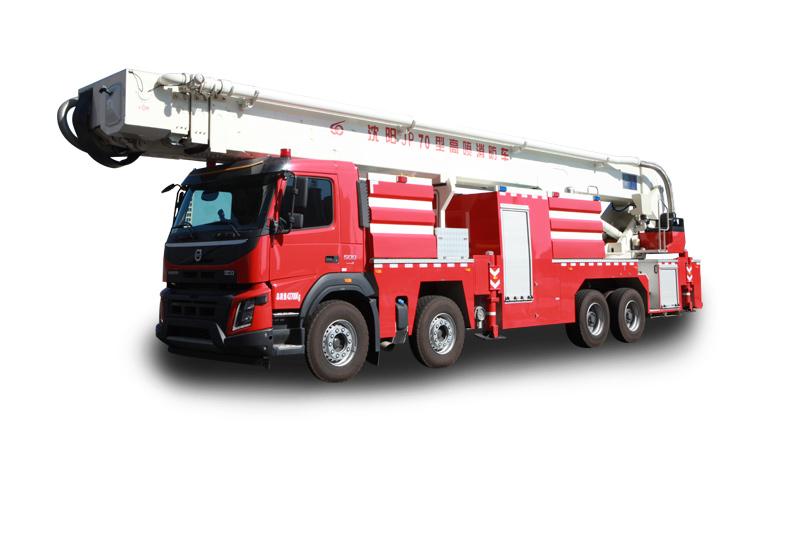 JP70型舉高噴射消防車