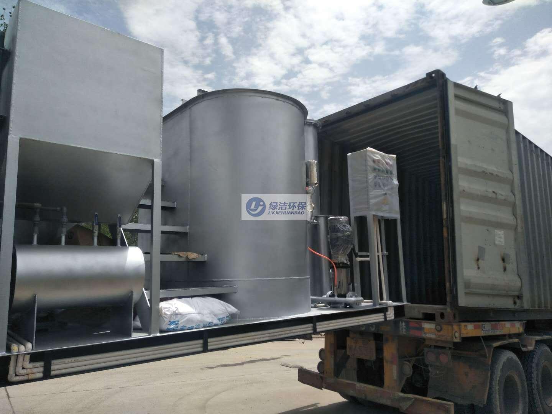 工業廢水處理氣浮一體機項目(出口美國設備)