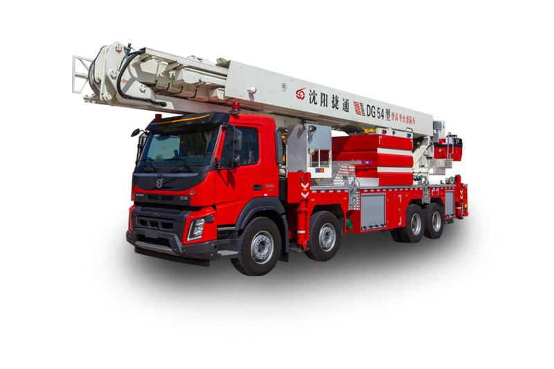 DG54型登高平臺救援消防車