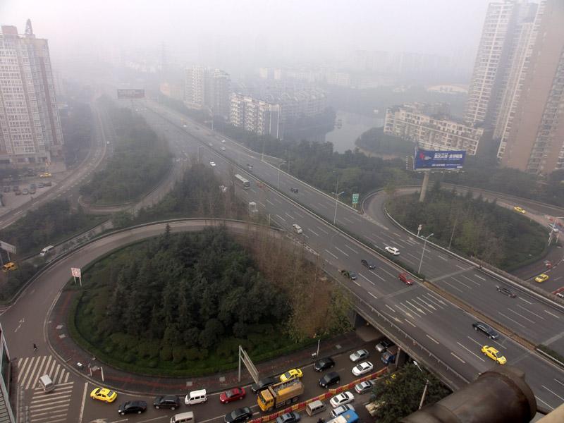 重慶渝北回興立交勘察