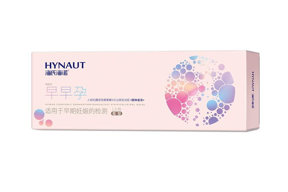 人絨毛膜促性腺激素(HCG)測定試紙(膠體金法)筆型1人份