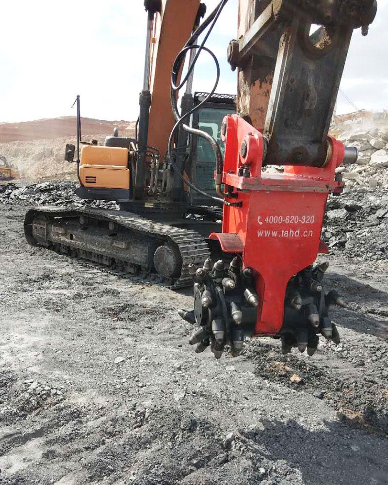 RW液壓巖土銑挖機