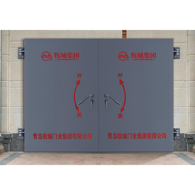 GSFM鋼結構雙扇防護密封門