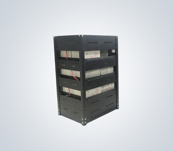 【汇利电器】可定制新款机架式拼装蓄电池架 UPS电池钢架 品牌智造