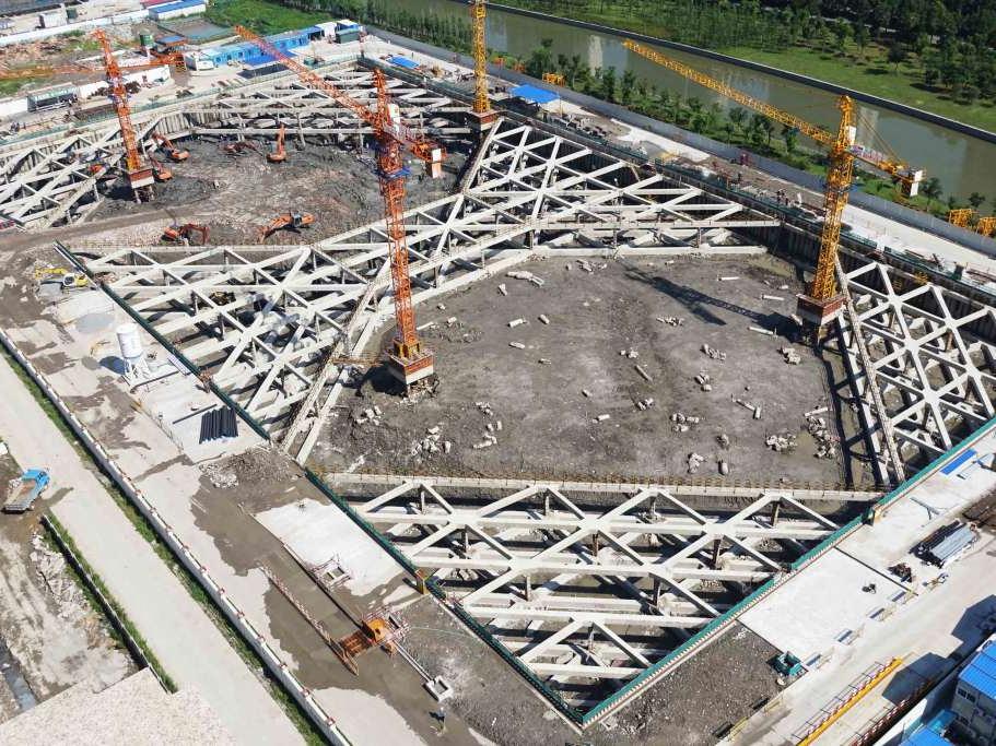 寧波市公安局業務技術用房基坑支護工程