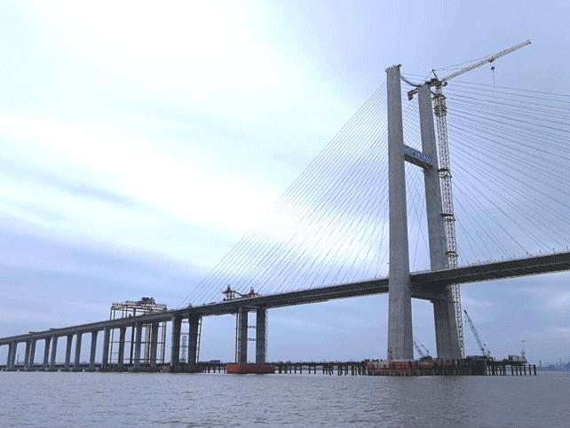 臺州灣大橋工程控制測量