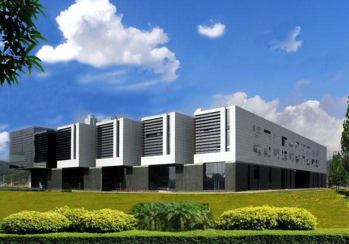 《大運新聞中心》--第三項中國建筑工程魯班獎