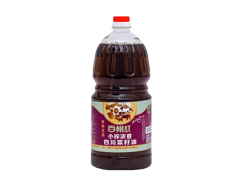 小榨濃香四川菜籽油1.8L