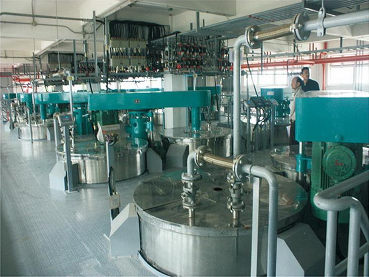 油墨自動化生產裝置