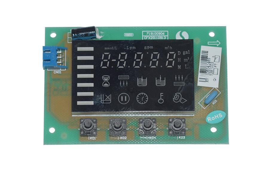 智能水處理閥門控制器LED模塊顯示板