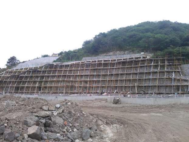 寧波漢圣石化工廠邊坡治理設計