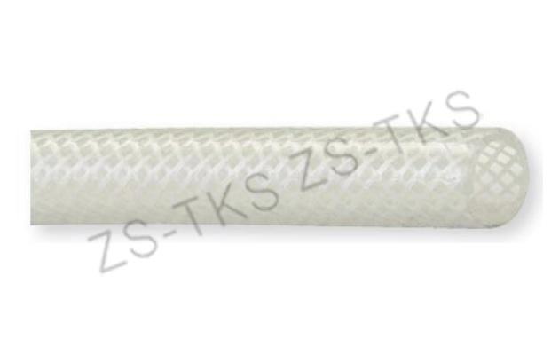 硅膠管-單層編織網線鉑金硫化硅膠軟管-SSD