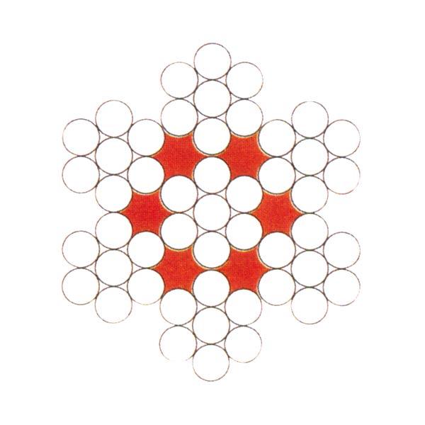 6×7+IWS金屬股芯繩
