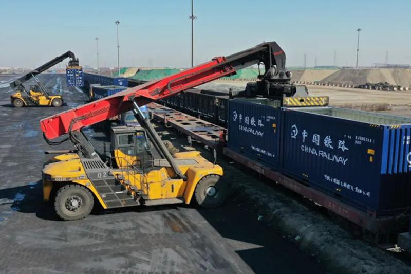 新華社報道:曹妃甸港區構建西部內陸港發展海鐵聯運