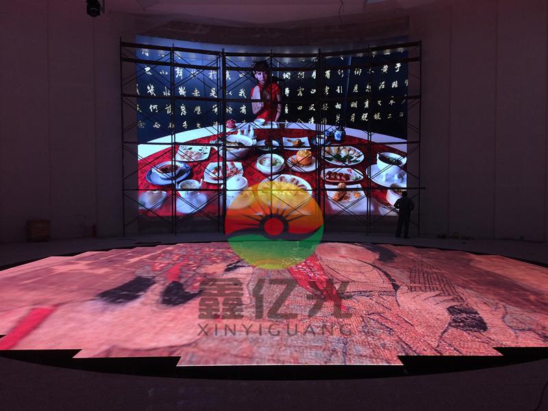 青岛互动LED地砖屏