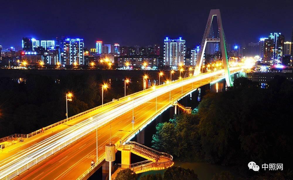 贛州市飛龍島大橋夜景亮化工程
