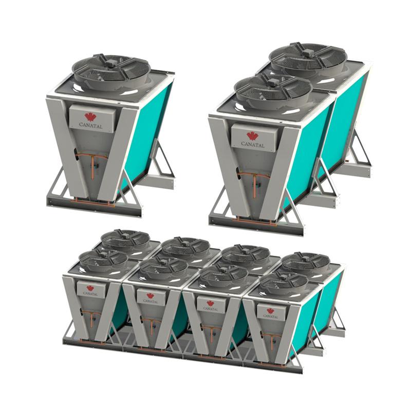 V型緊湊型集中式冷凝器