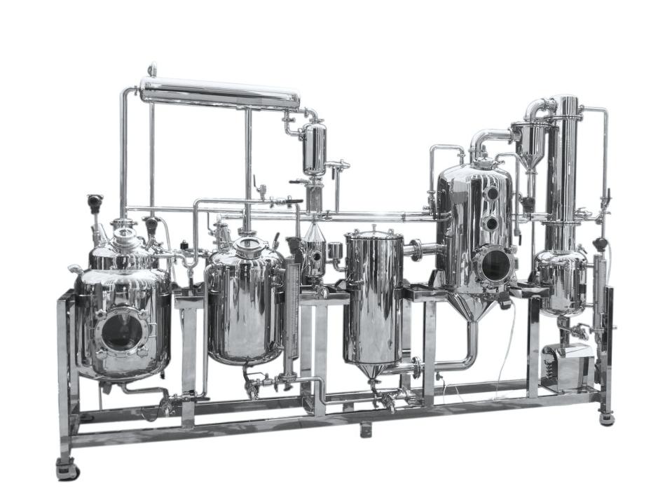 小型多能提取、濃縮、醇沉、回收機組
