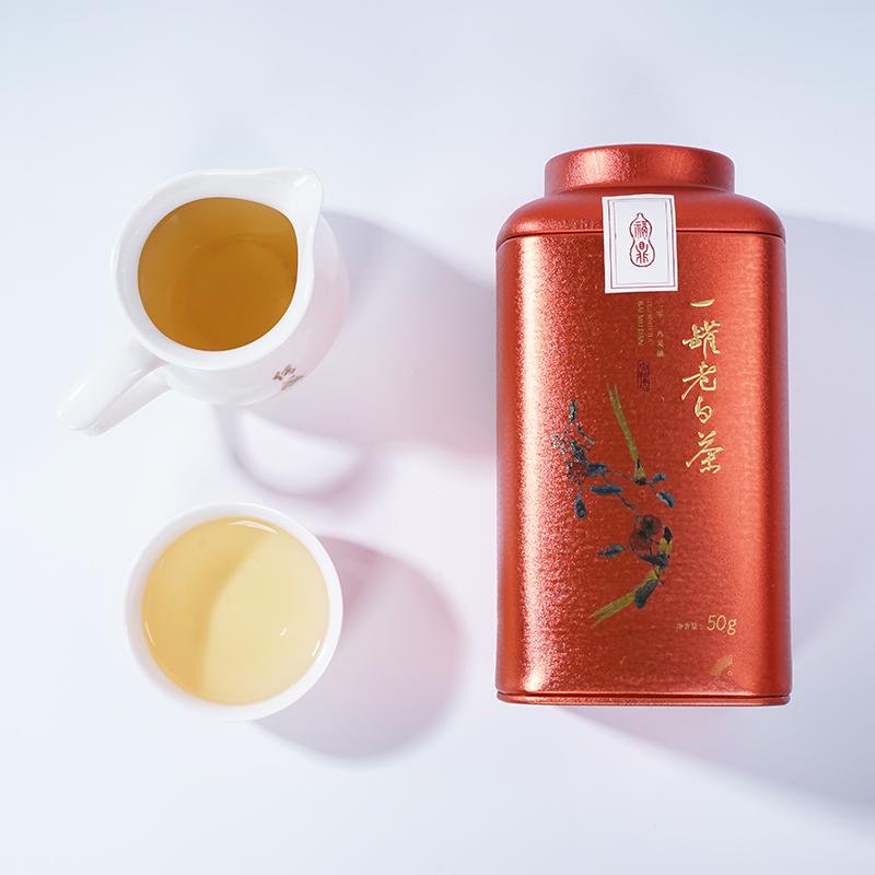 一罐老白茶-白牡丹(21)