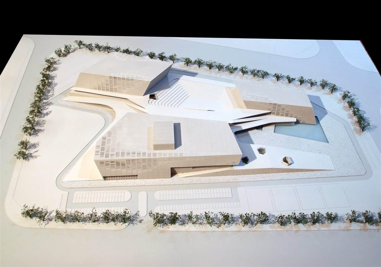 東莞市民藝術中心、工人文化宮室內裝飾裝修工程