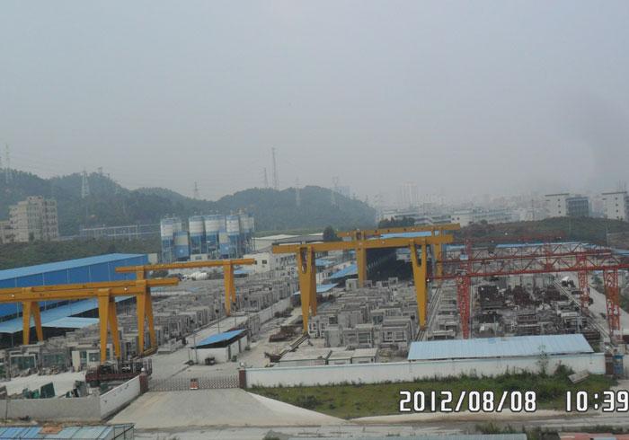 鵬建構件廠區