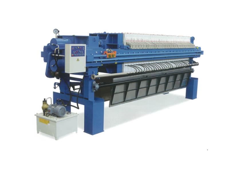 1500型高壓隔膜翻板壓濾機