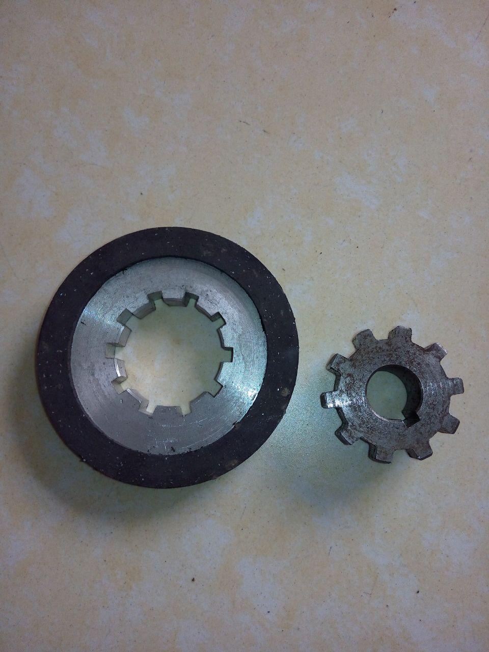 凯澄电动葫芦0.8KW刹车片和齿轮