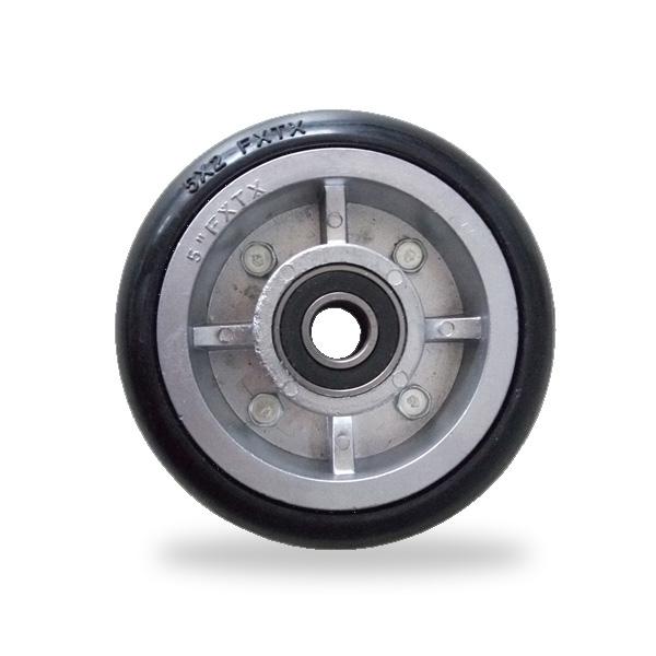 鋁芯高彈力 單輪 5寸