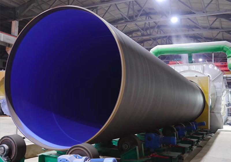 鋼管外聚乙烯3PE、內環氧粉末(FBE)防腐