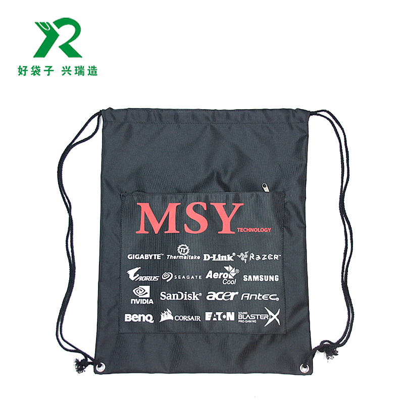 210D防水束口背包袋 拉繩袋 束口袋定制