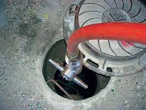 2016年2月,伽瑪潔清洗設備在市政設施清洗中的應用