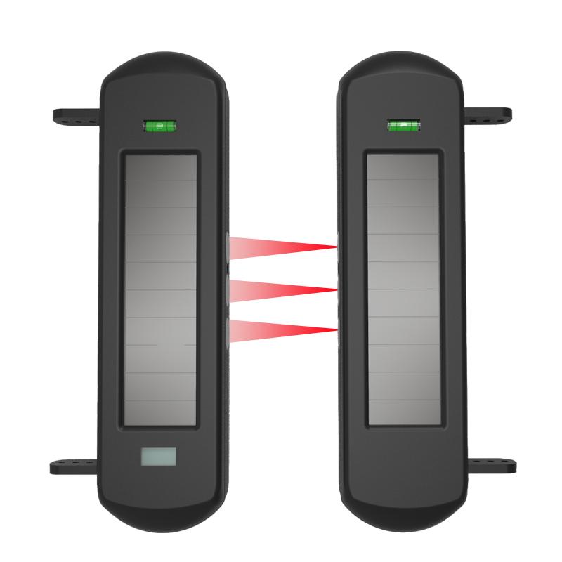 三光束太陽能對射式電子圍欄 HB-T001R3