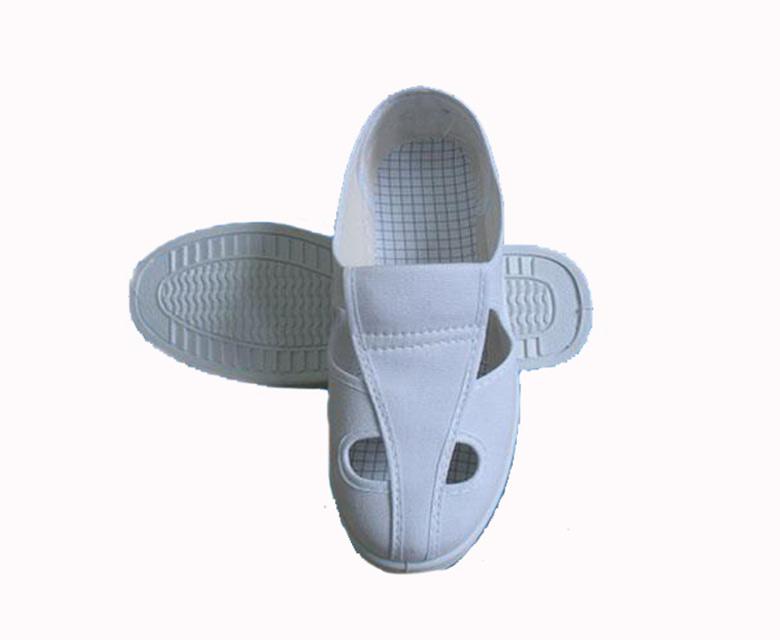 革面四孔潔凈鞋