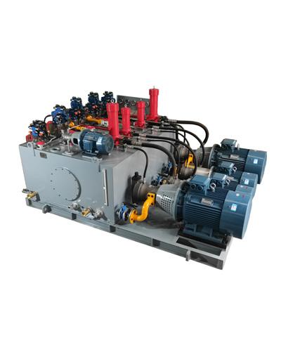 卷板机液压系统