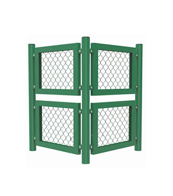 钢结构框架内藏式拼装围网