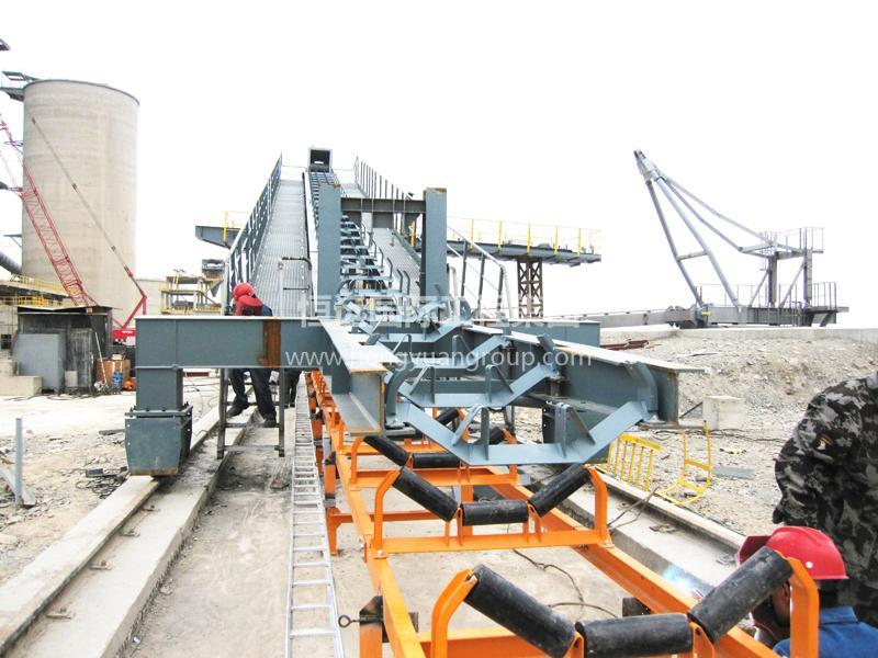 甘肃恒亚水泥有限公司ST133堆料机、RES114取料机