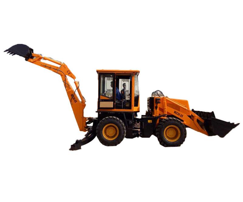 WZ30-25型挖掘裝載機