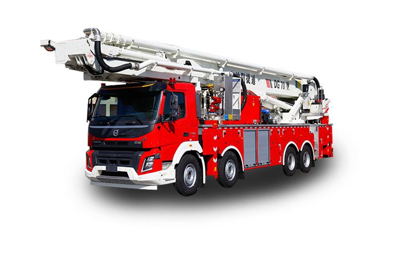 DG70型登高平臺救援消防車(沃爾沃)
