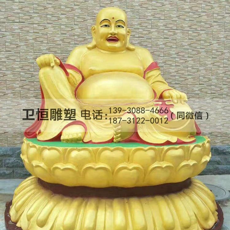 铜弥勒雕塑