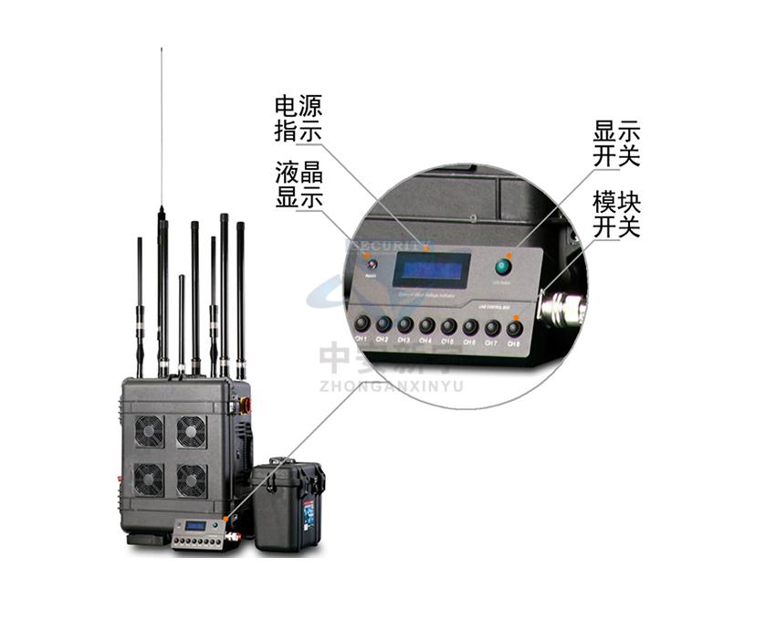 SMa-818T8B 拖箱式DDS数字调频技术