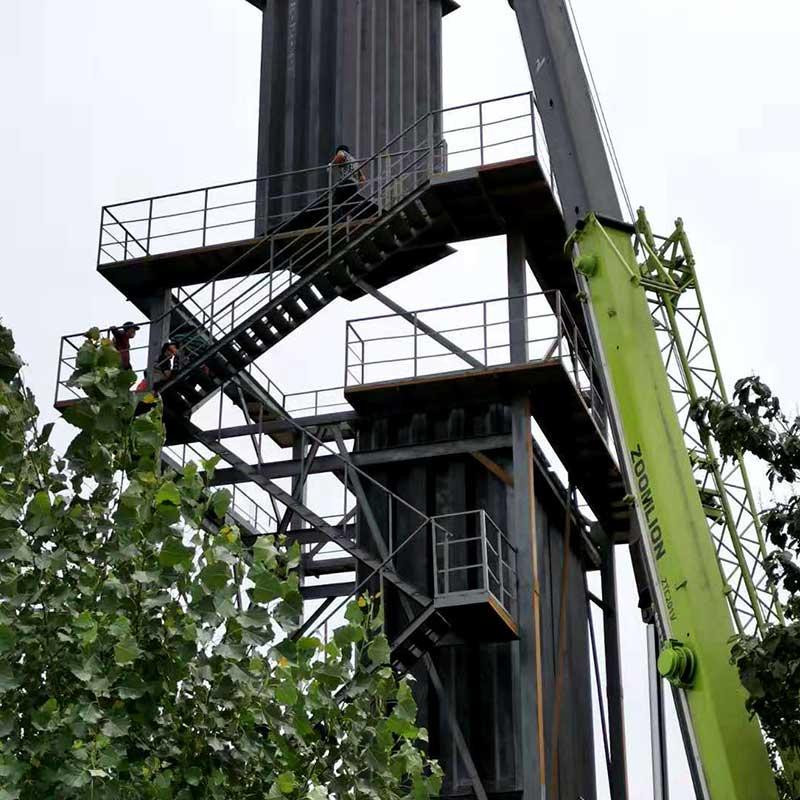 濕電陽極管吊裝