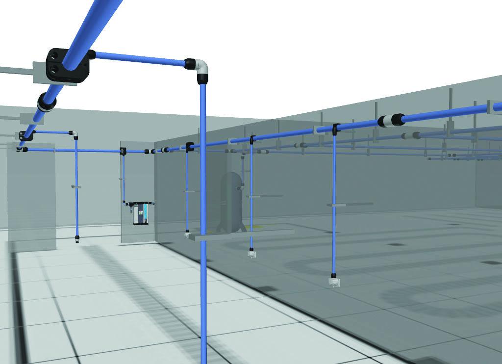 壓縮空氣管網改造