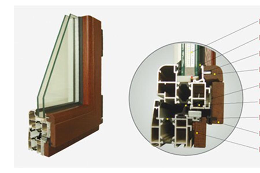 集成材木包鋁門窗