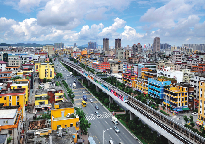 深圳地鐵三號線(一)